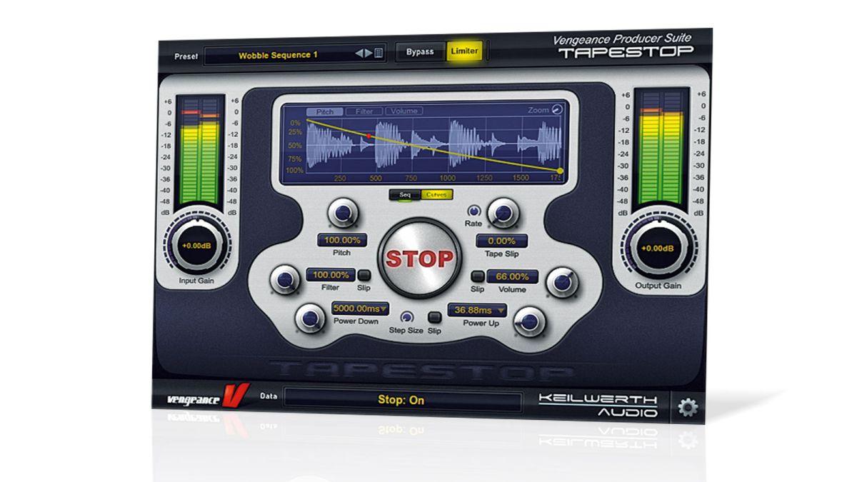 Como hacer un Scratch Down - dblue tapeStop vst (Link en ... |Tapestop Vst