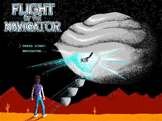 8-Bit interpretation of Flight of the Navigator