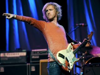 He might be striking a rock pose but Kenny Wayne Shepherd is a Robert Johnson man all the way