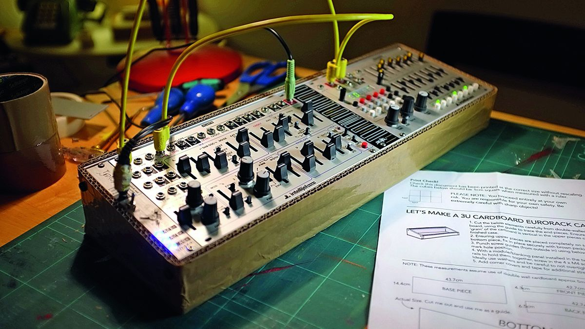 How to build your own cardboard Eurorack modular case | MusicRadar