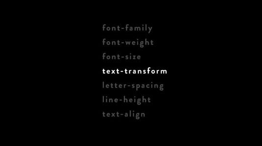 Design for screen: web design terms