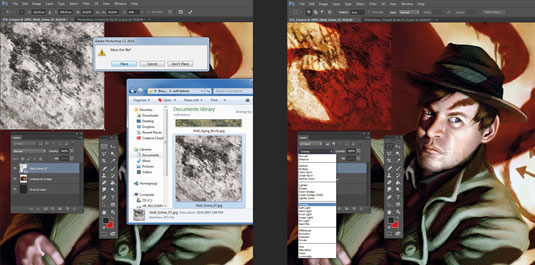 the beginners guide to photoshop - textures