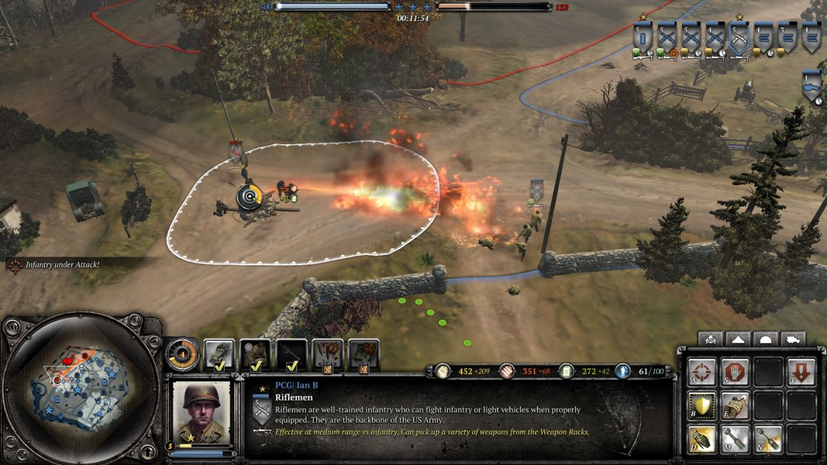 company of heroes 2 the western front armies review pc gamer. Black Bedroom Furniture Sets. Home Design Ideas