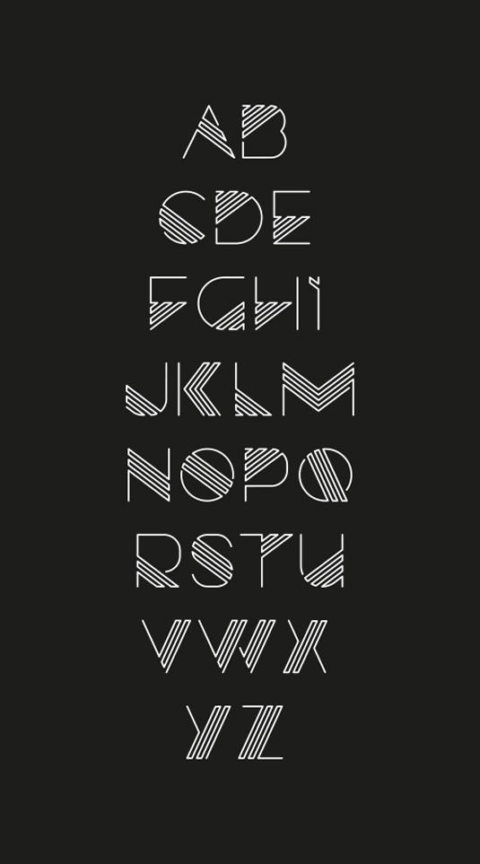 Razor font
