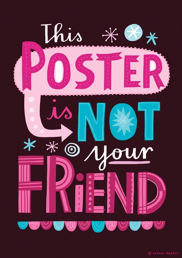 Uninspiring posters