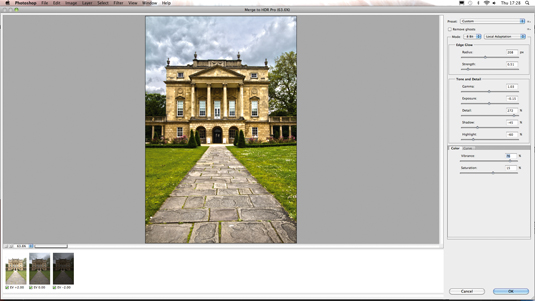 Photo editing: create an outdoor HDR image 2