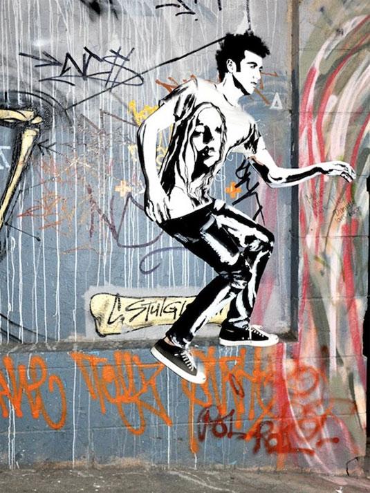 Alexa Meade street art