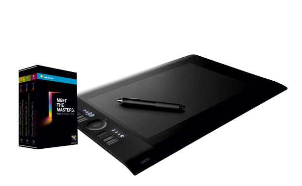 Master your graphics tablet with a Meet The Masters DVD boxset