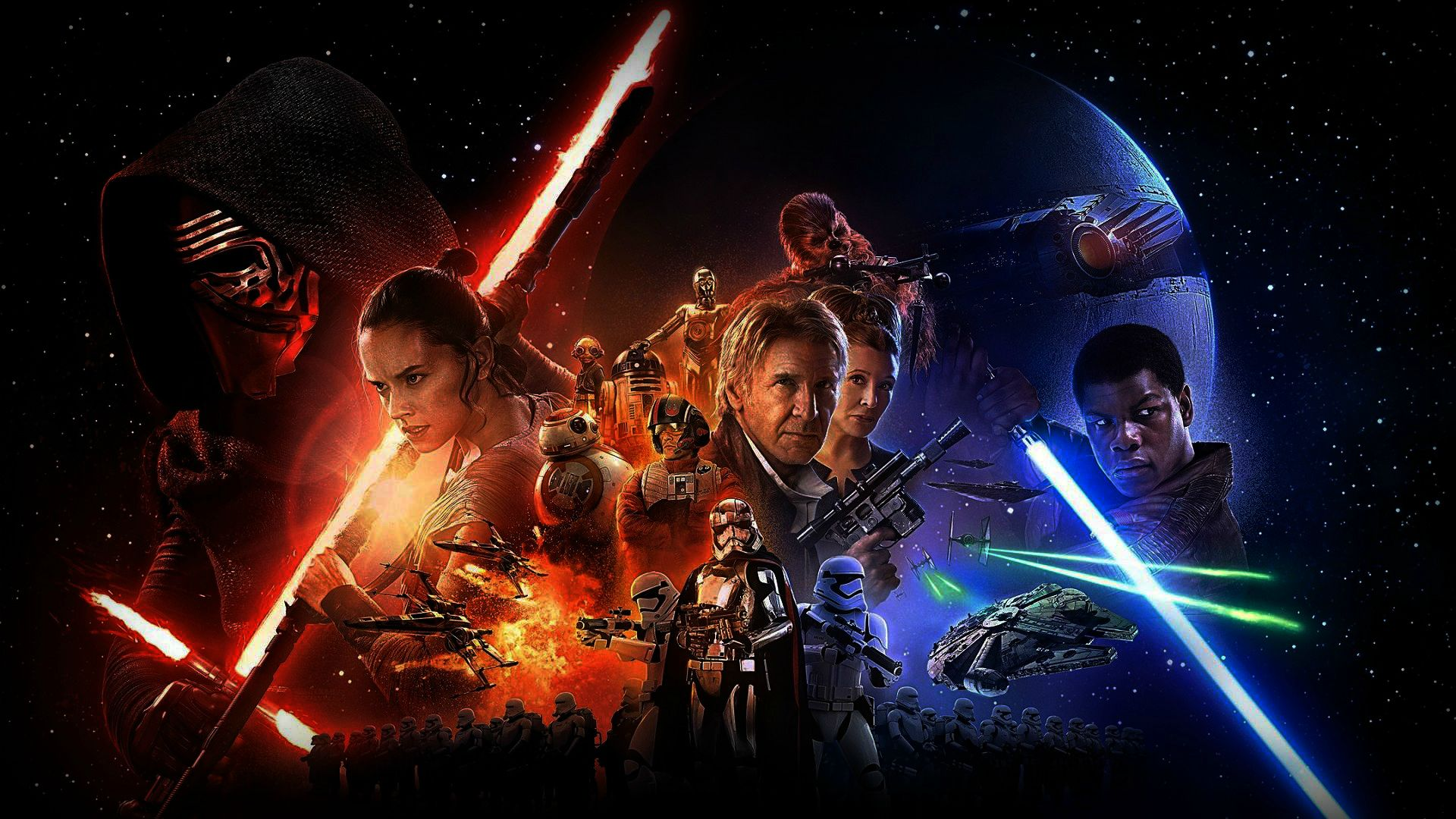 Star Wars The Force Awakens 2015 Is Stronger Than Anticipated Review Mesh The Movie Freak