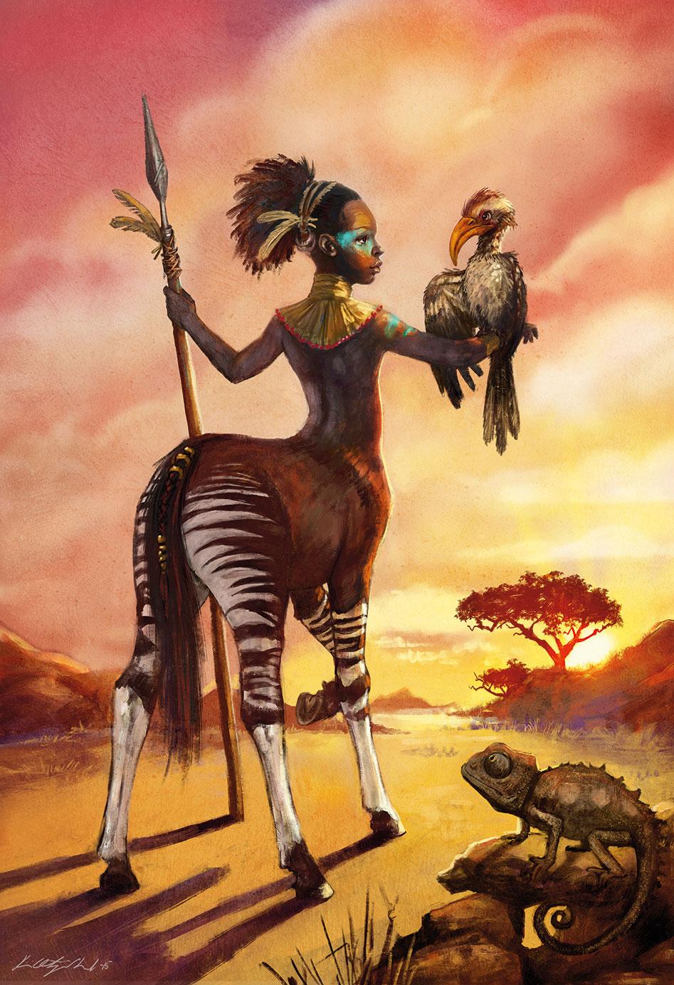 Kiri Leonard: African Unicorn
