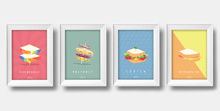 The Art of Sandwiches