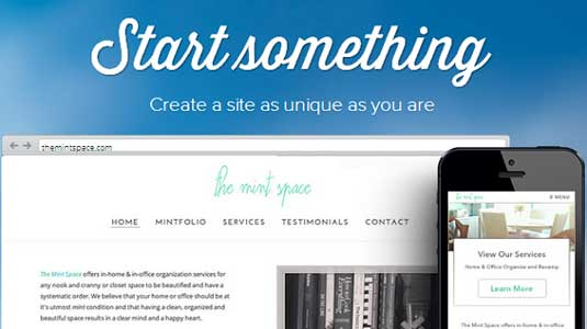 Website builder: Weebly