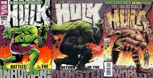 Comic book artists: Hulk