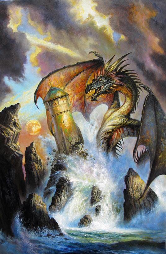 dragon bob eggleton
