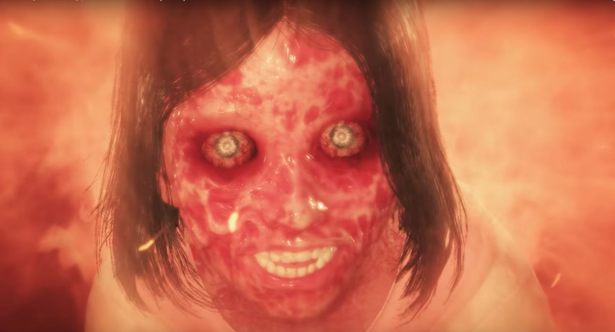 [Probably NSFW] There's a kid with a melted face in The Evil Within 2 launch trailer