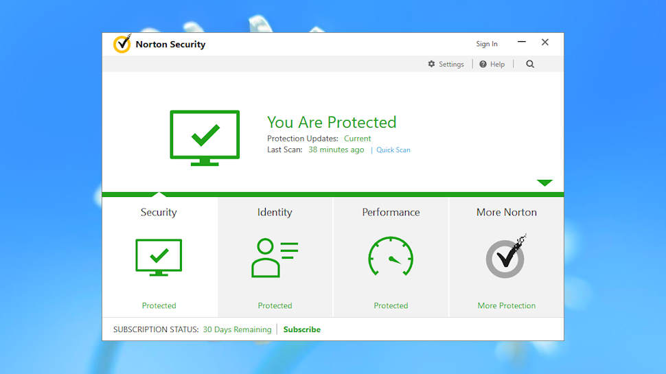 Norton AntiVirus Basic 2018 will protect your PC without being a system hog