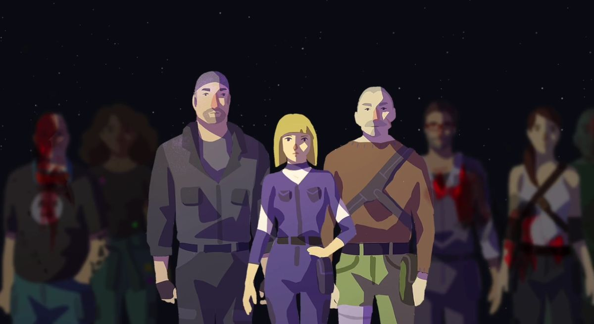Symmetry is a 'survival management' game about a crashed spaceship and an alien horror