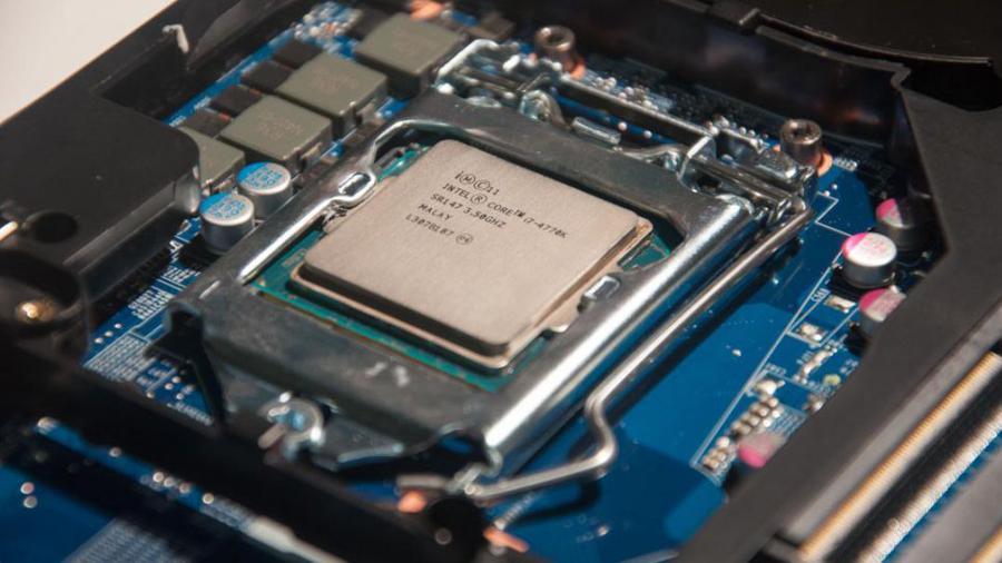 An Intel chip inside a pre-Z97 motherboard