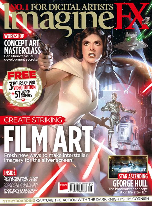 Become a film concept artist with ImagineFX