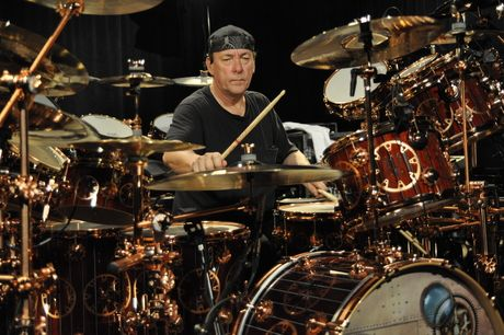 Win Signed Neil Peart Dvd And Remo Head Musicradar