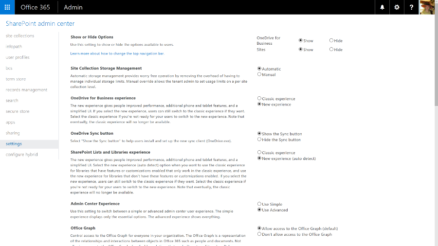 Customise SharePoint portal