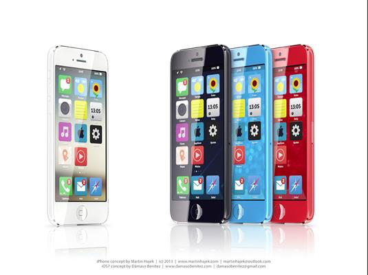 iPhone Mini running iOS 7