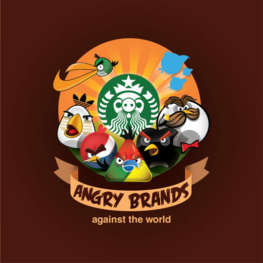 angry bird brands