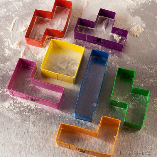 Tetris cookie cutter