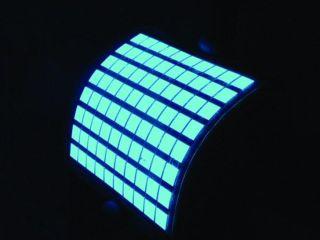 OLED lighting panels built by inkjet printers