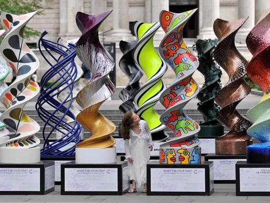 DNA sculptures