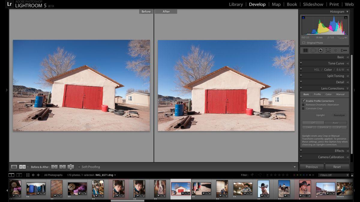 Как выровнять здание в фотошопе