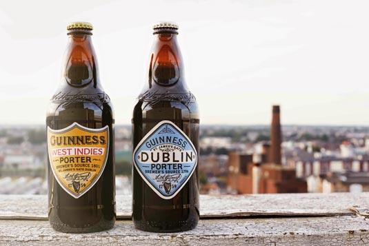 Guinness Porter bottles