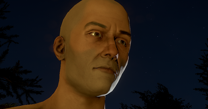 Rust Update Assigns Skin Color And Face To Players Pc Gamer
