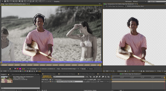 After Effects CS7 teams up with Cinema 4D: screenshot