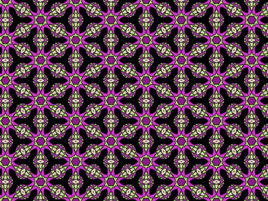 Beatles-inspired repeat pattern by Lottie Norton