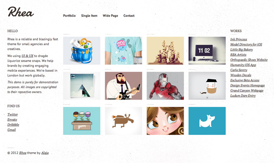 25 top-quality WordPress portfolio themes – Graphic Design | Digital ...