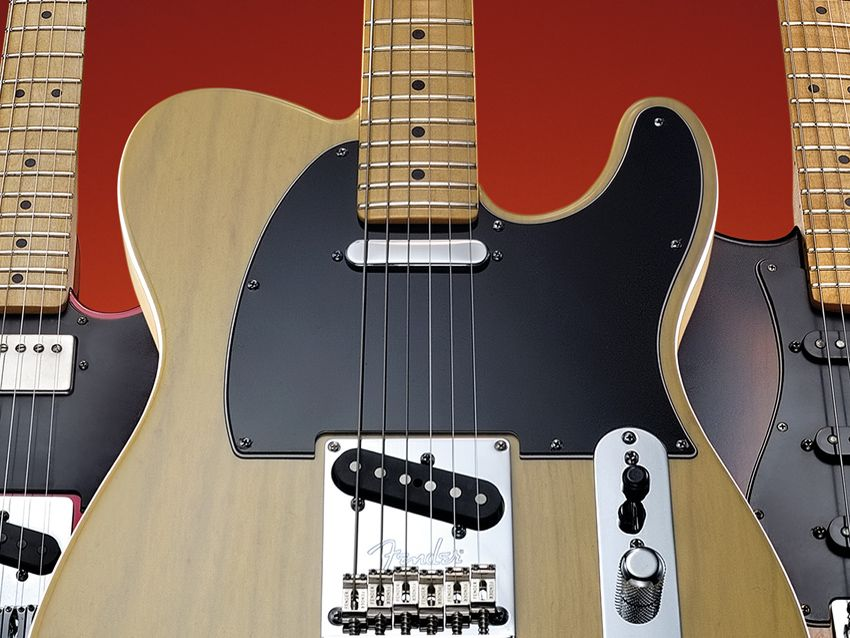 fender 60th anniversary telecaster review musicradar. Black Bedroom Furniture Sets. Home Design Ideas