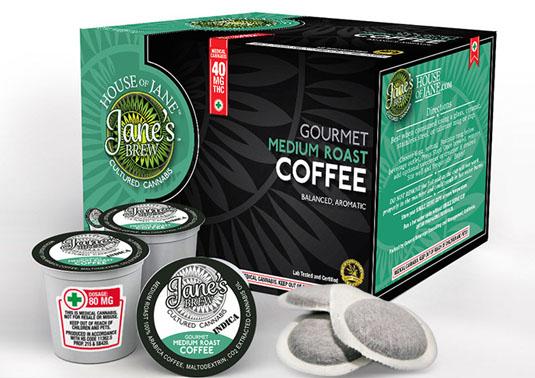 Cannabis branding: Jane's Brew