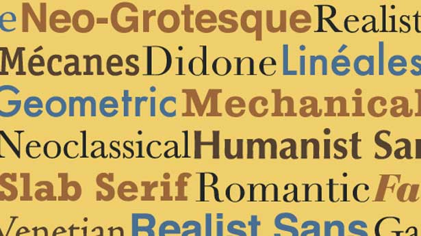 Typography tutorials: Making sense of type classification