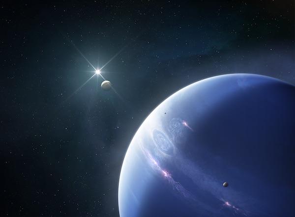 There's Something Strange Going On Inside Neptune