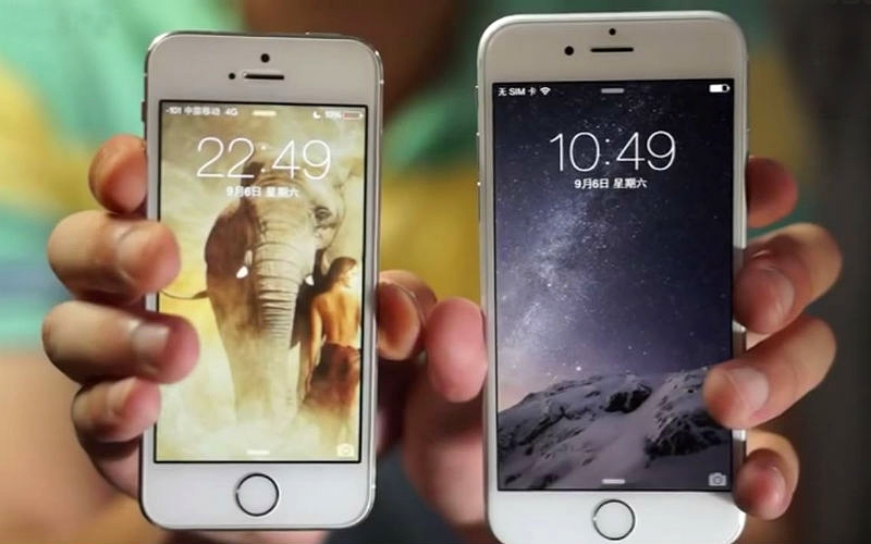 Iphone 6 Plus Compared To Galaxy S5