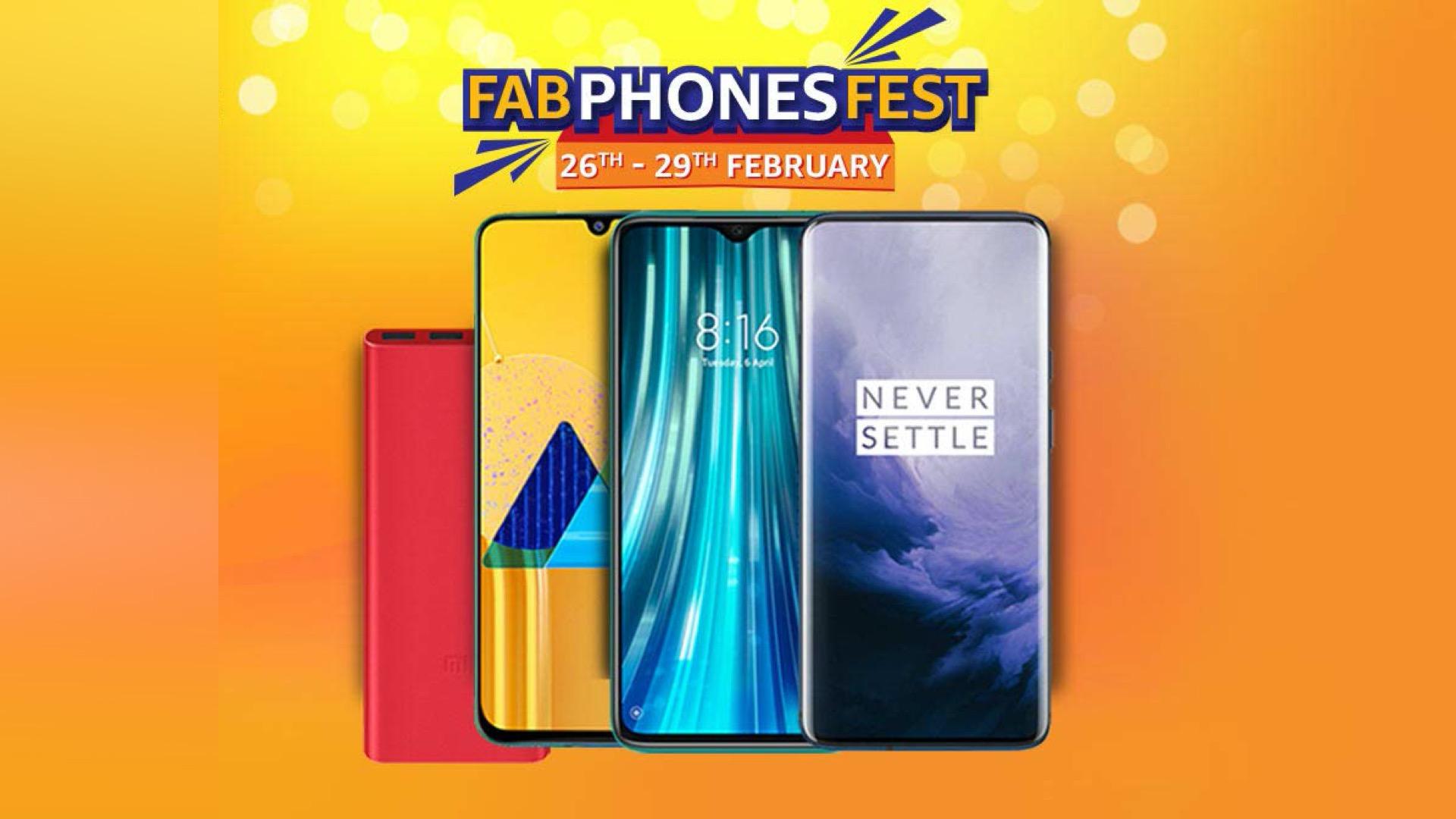 Amazon Fab Phones Fest 2020: best deals and offers on smartphones