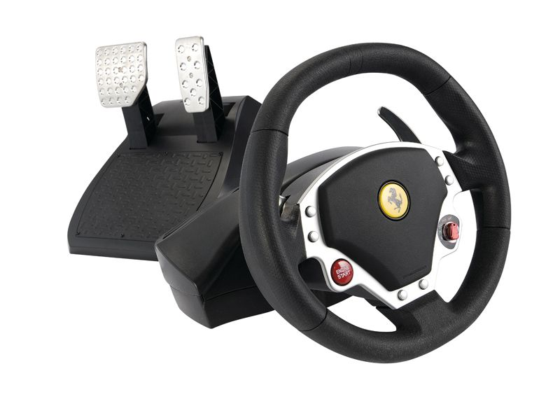 thrustmaster ferrari f430 review techradar. Black Bedroom Furniture Sets. Home Design Ideas
