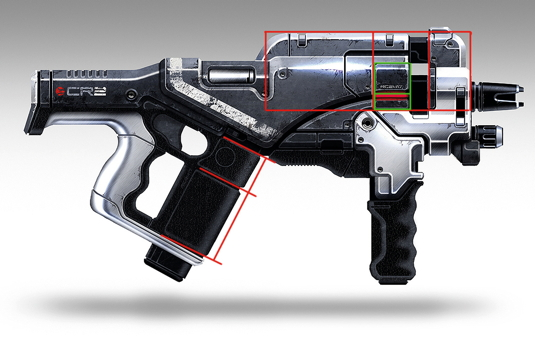 Guns galore: how to design sci-fi weapons
