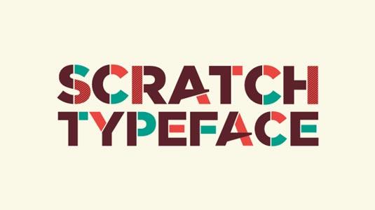 Free fonts: Scratch