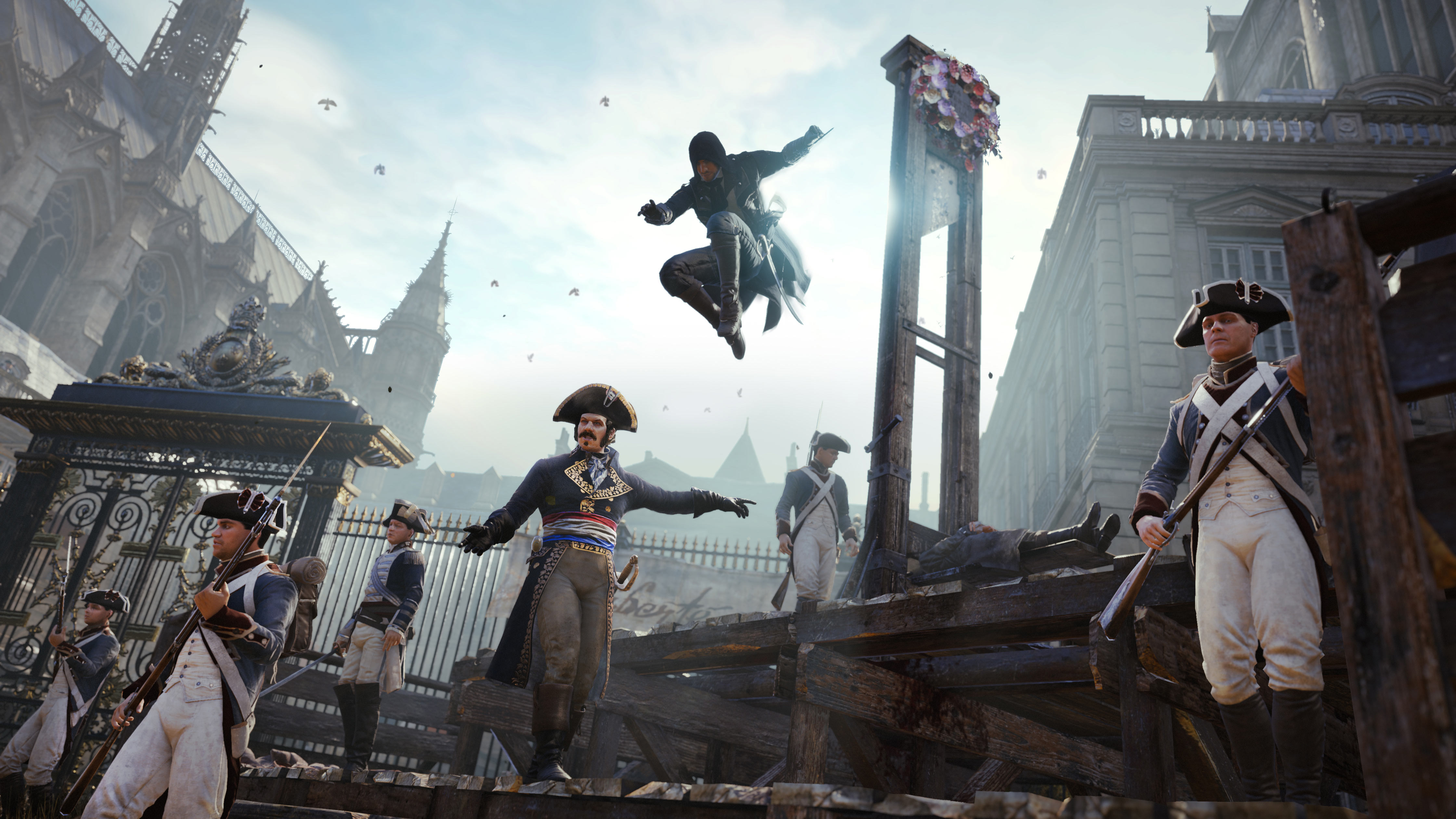 Assassin s creed unity review next available slot assassin s creed - Create Your Own Assassin For Ac Unity Win A Real Figurine Of Your Character Gamesradar