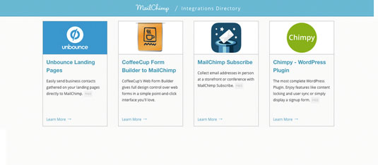 Before you code something against MailChimp, make sure it isn't one of the over 750 integrations that has already been built