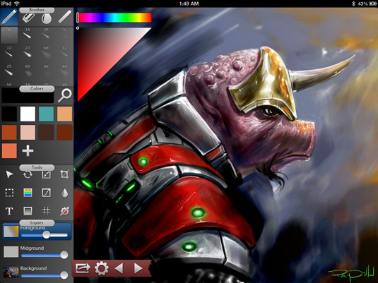 Drawing apps for ipad: Inkist