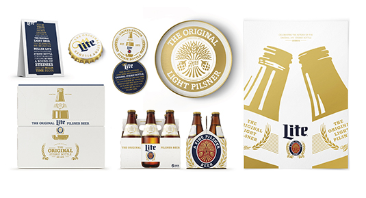 Brand Impact Awards - Miller Light Steinie, by Turner Duckworth