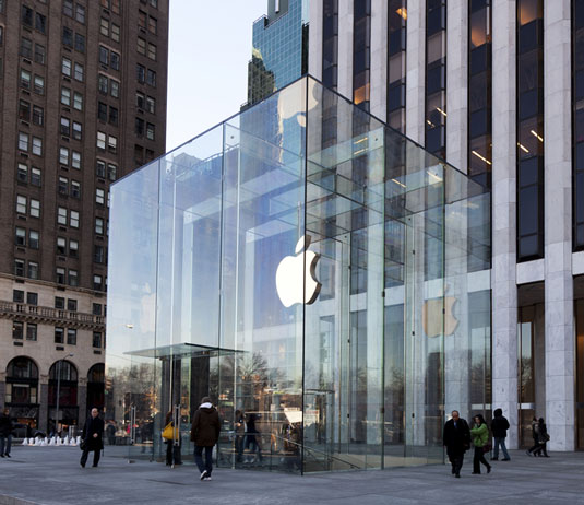 Design landmarks: Apple's flagship store